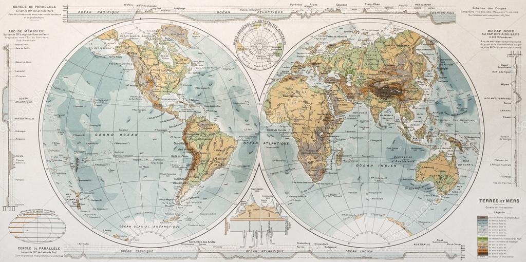 "Карта мира ""Глобус"""