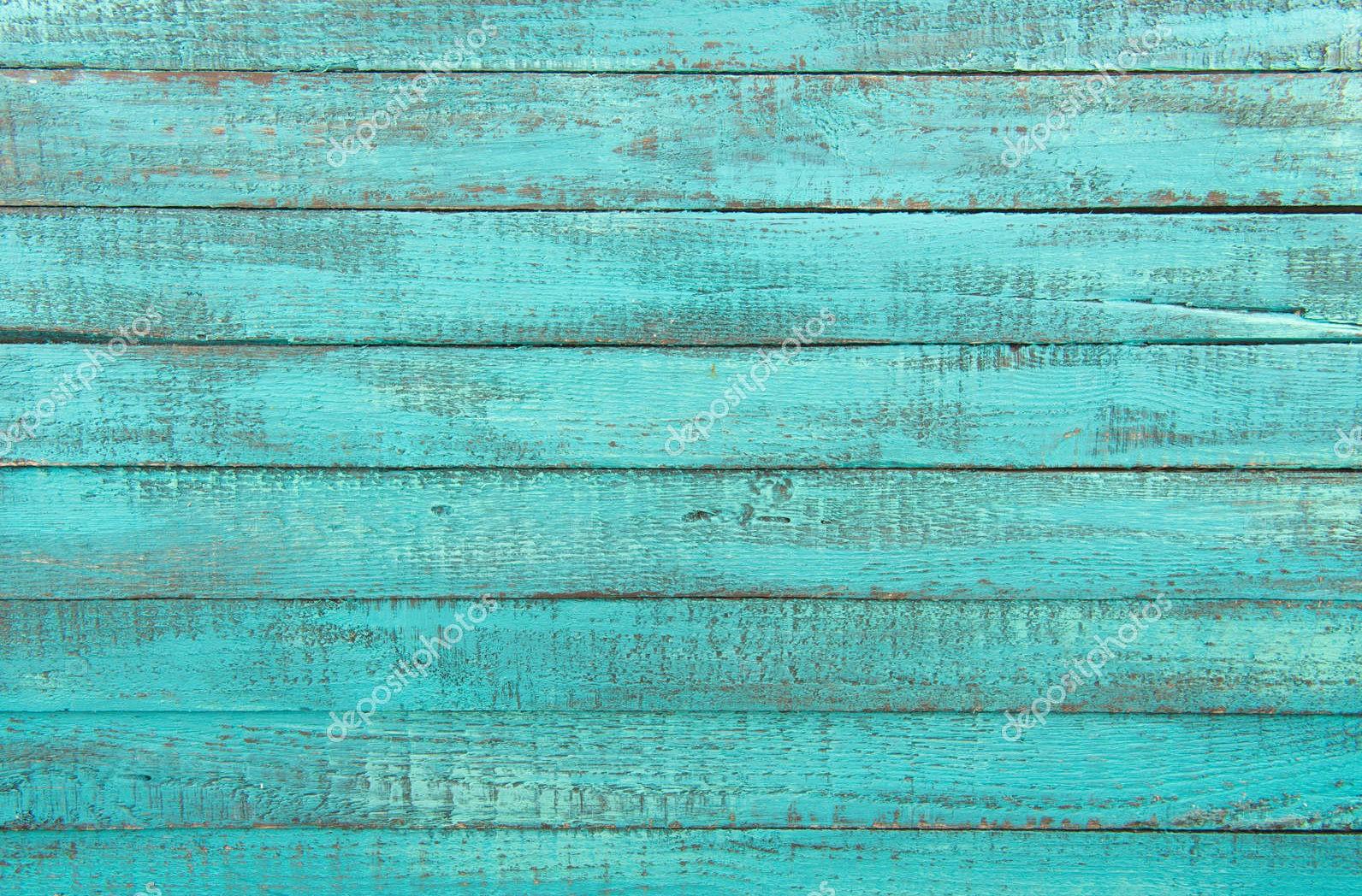 Декоративные деревянные планки, бирюза