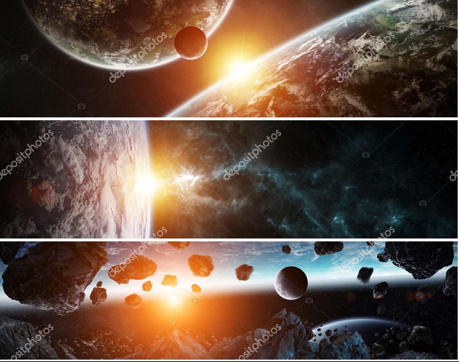 Панорама далекой планеты