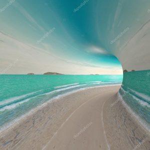 Голубой туннель